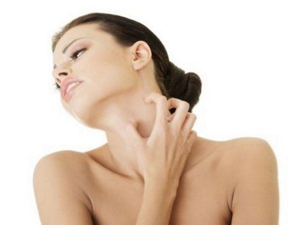 O ciuperca pe piele poate provoca, de asemenea, mâncărime.