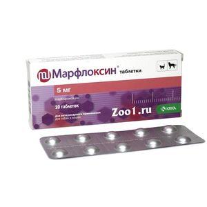 Efectul medicamentului marfloxin