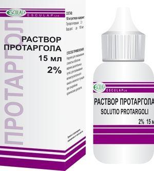 Protargol: picături în nas pentru copii, instrucțiuni de utilizare
