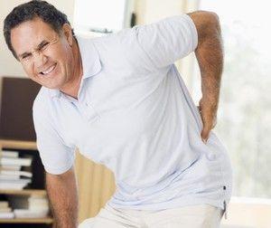Simptomele celei de-a doua etape a sciaticii lombare
