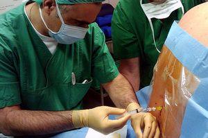 Descrierea metodei de blocare a sciaticii lombare