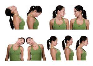 Osteochondroza cervicală - exercițiu terapeutic