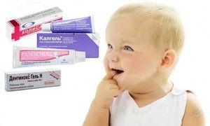 Preparate pentru dentiție