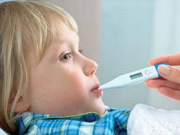 Temperatura la un copil cu mononucleoză