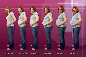 Uzi în cea de-a 22-a săptămână de sarcină