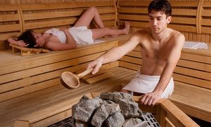Ce înseamnă să fi într-o saună cu soțul tău?