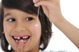 Aparitia unui dinte a fost un vis pentru un copil