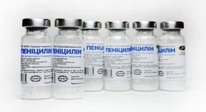 Lista de antibiotice cu penicilină