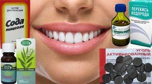 Descrierea remediilor eficiente pentru albirea dinților