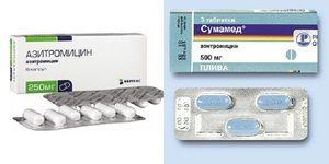 Caracteristicile alegerii Sumamed sau azitromicinei