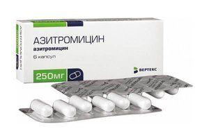 Caracteristicile medicamentului Azitromicină