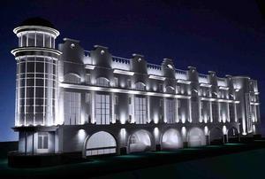 Corpuri de iluminat cu LED-uri pentru clădiri