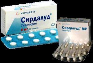 Sirdalud pentru tratamentul osteocondrozei cervicale este prescris foarte des