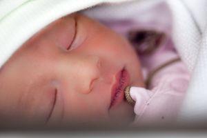 Ochiul nou-născutului se înfurie