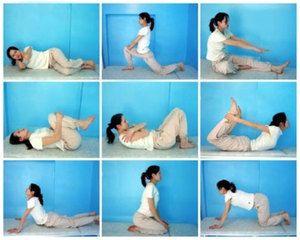 Exerciții pentru întindere - lucrăm cu mușchii din spate