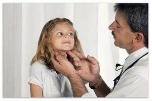 Cum să tratați inflamația glandelor la un copil